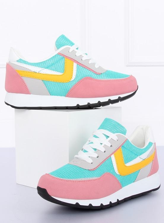 Buty sportowe różowo-niebieskie CB-02 PINK