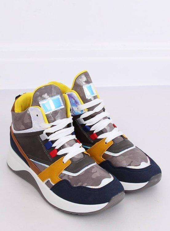 Buty sportowe za kostkę D20-2 GREY