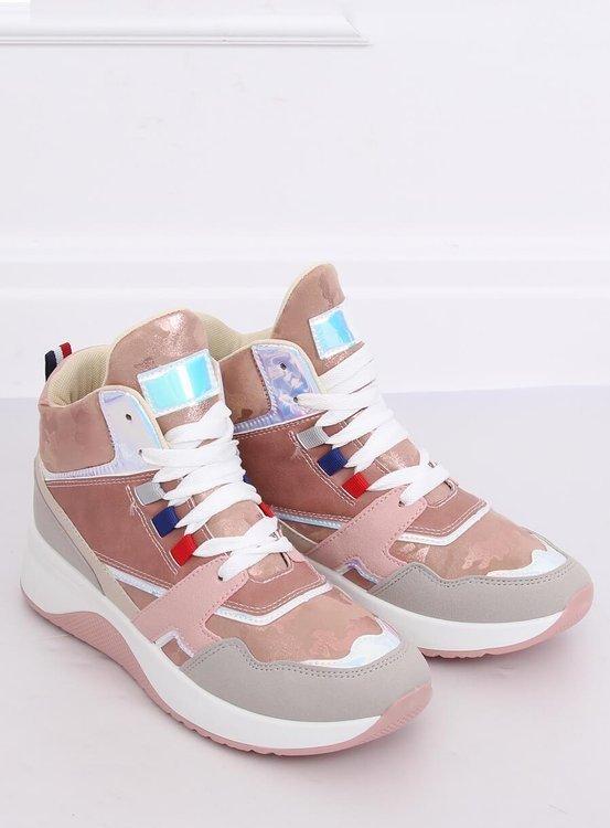 Buty sportowe za kostkę D20-2 PINK