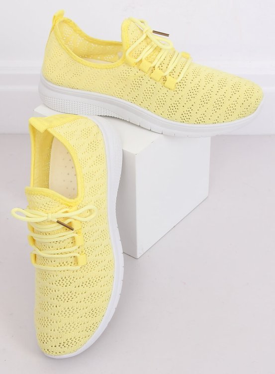 Buty sportowe żółte BB76 YELLOW