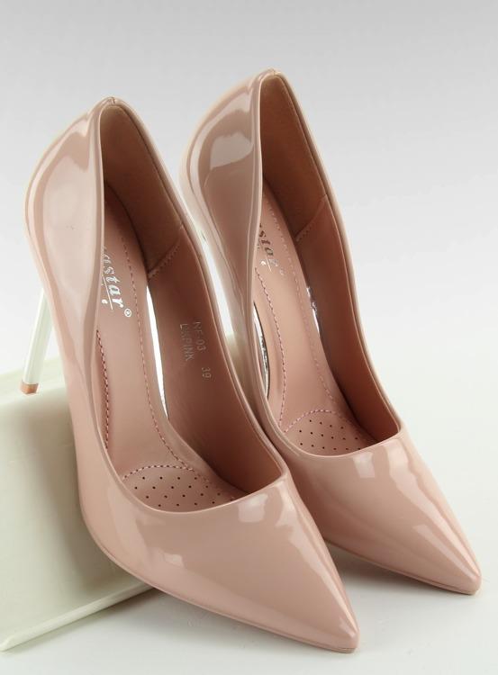 Czółenka Silver Heels różowe NF03 Pink