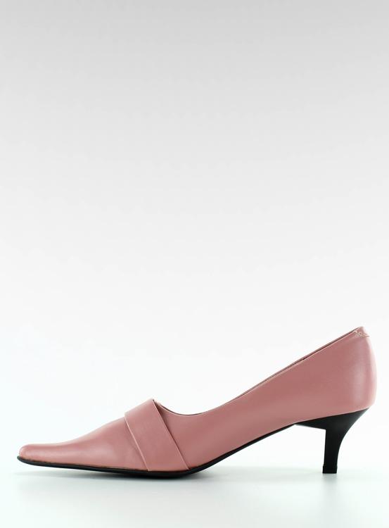 Czółenka na szpilce H120-1 pink