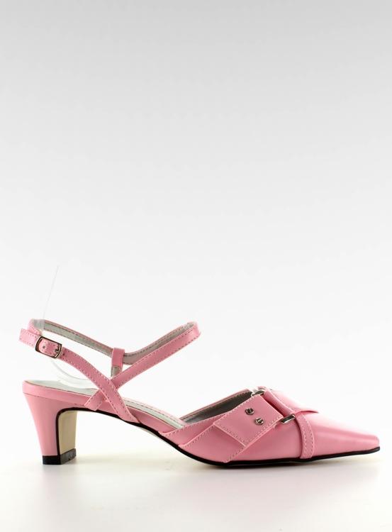 Czółenka niski obcas 39696-14 Pink