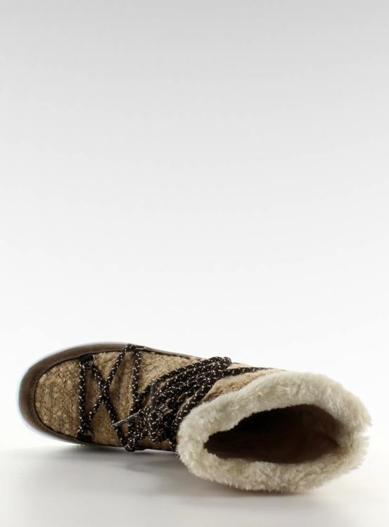 Dziecięce śniegowce eskimoski k1646102 Beige