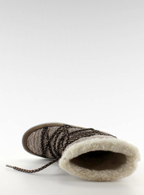Dziecięce śniegowce eskimoski k1646102 Taupe