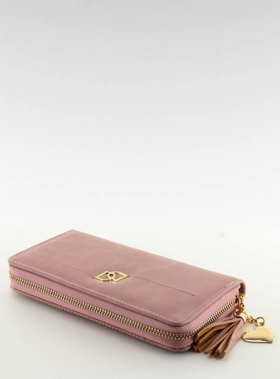Elegancki portfel damski PF-S-155 Różowy