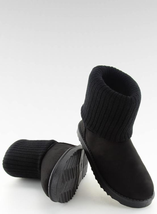 Emusy 2 w 1 czarne F1605 BLACK