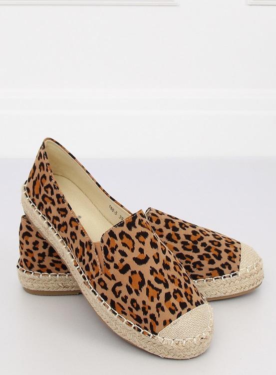 Espadryle damskie leopard 180-5 LEOPARD