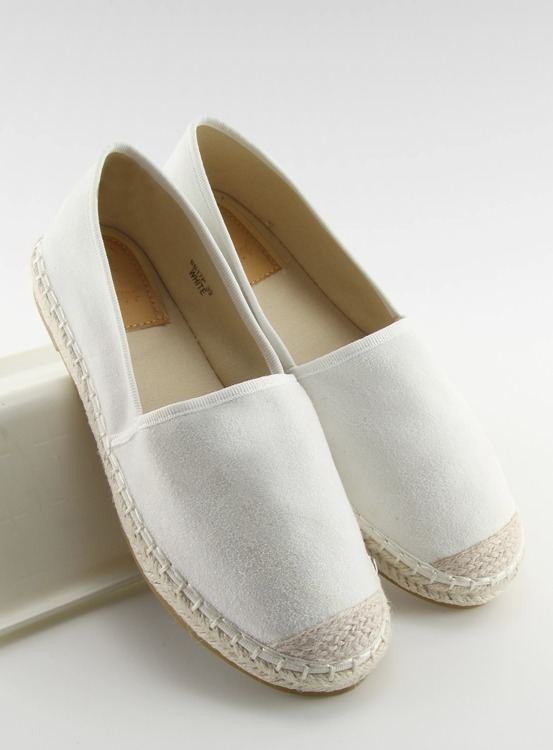 Espadryle full colour białe BB17P WHITE