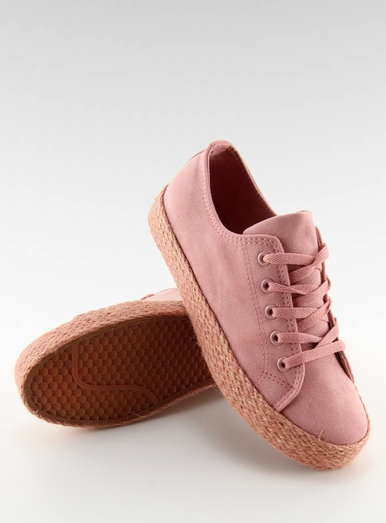 Espadryle full colour różowe K1830201 ROSA