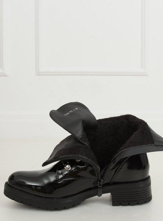 Glany lakierowane czarne 7982-PA BLACK