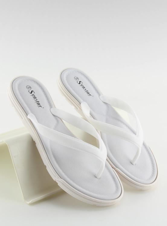 Japonki klapki damskie białe CK41P WHITE