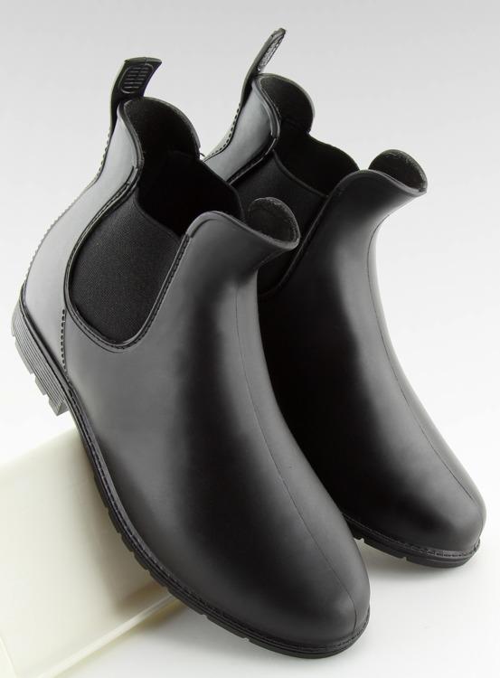 Kalosze sztyblety czarne D67 BLACK