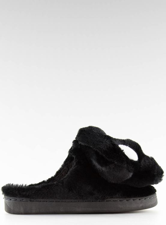 Kapcie damskie czarne DD93 BLACK