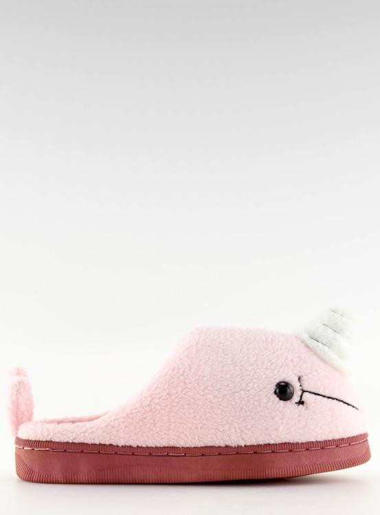 Kapcie damskie różowe DD92 L.PINK
