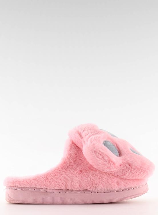 Kapcie damskie różowo-szare DD93 W.PINK