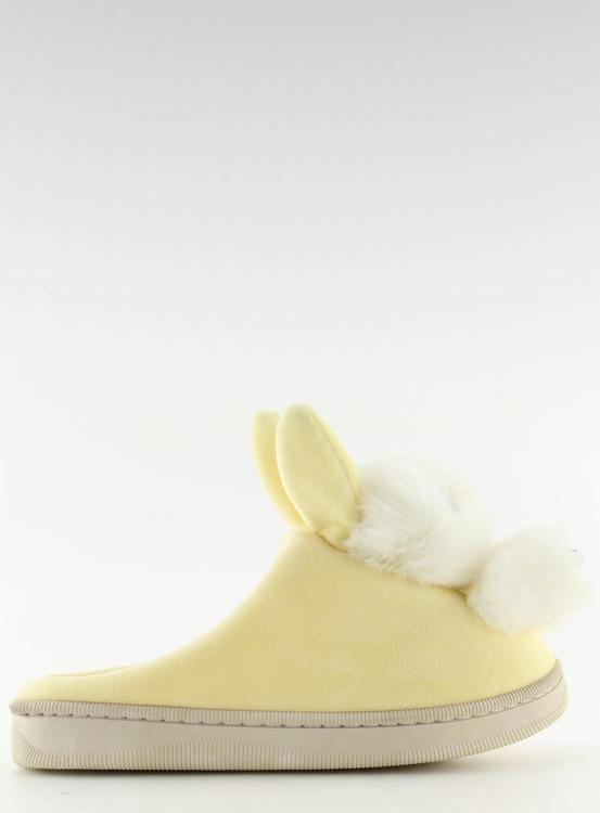 Kapcie damskie żółte DD90 BEIGE