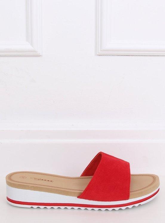 Klapki damskie czerwone G-5036 RED