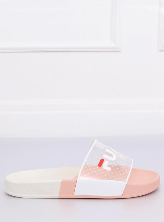 Klapki damskie różowe ZD807 PINK
