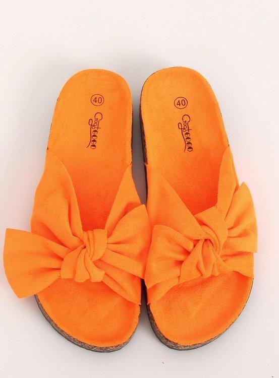 Klapki korkowe pomarańczowe G-580 ORANGE