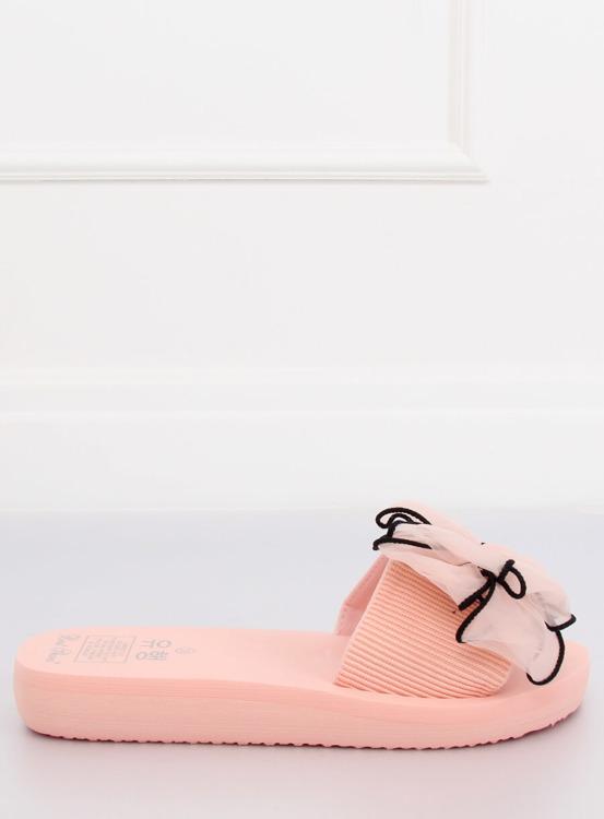 Klapki na piankowej podeszwie różowe FX-2A081 PINK