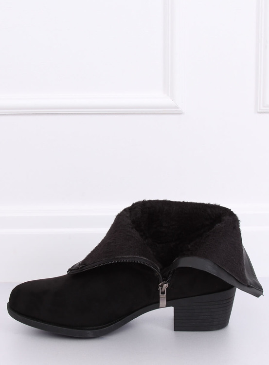 Kowbojki damskie czarne 8035-GA BLACK