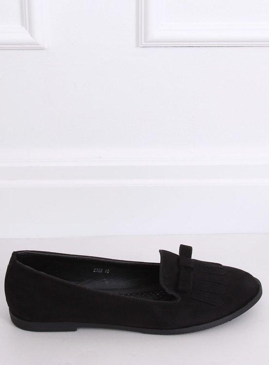 Lordsy damskie czarne 2358 BLACK