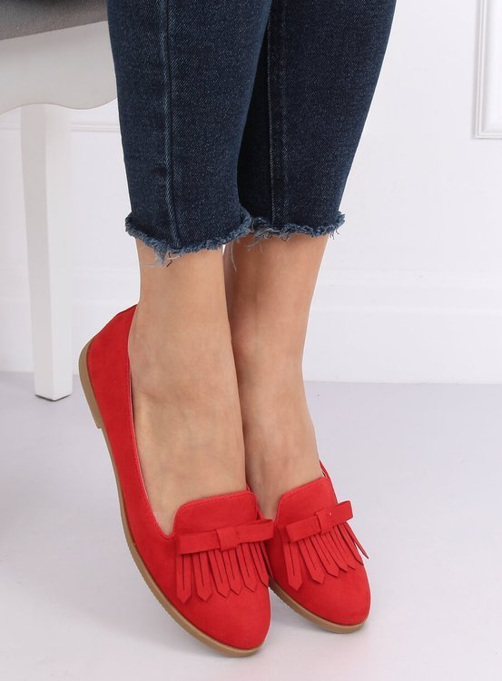 Lordsy damskie czerwone 2358 RED