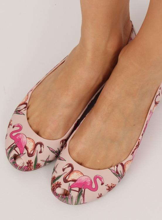Meliski z flamingami różowe CK85 PINK