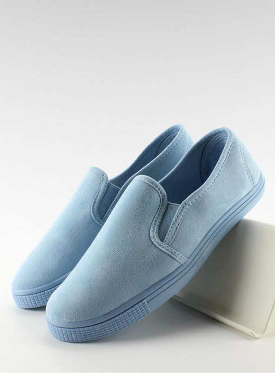Mięciutkie trampki slip-on JX40P L. BLUE