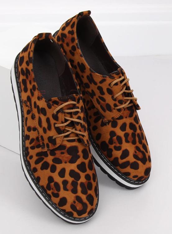 Mokasyny damskie leopard C-7225 LEOPARD PRINT