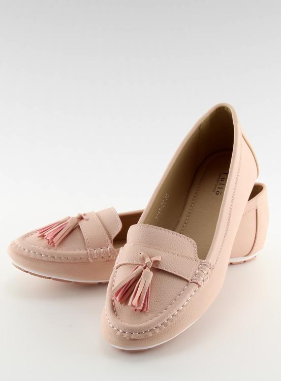 Mokasyny damskie różowe 3147 Pink