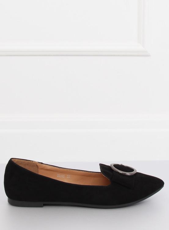 Mokasyny lordsy czarne B2010 BLACK