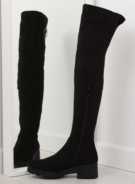 Muszkieterki damskie czarne NC712 BLACK