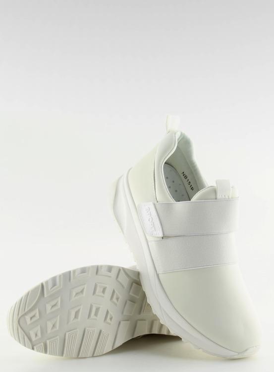 Obuwie sportowe damskie białe NB151P WHITE