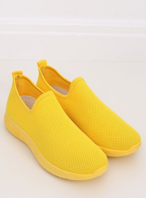 Obuwie sportowe żółte 7079 YELLOW