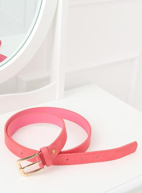 Pasek damski różowy ps-sc-32 RÓŻOWY