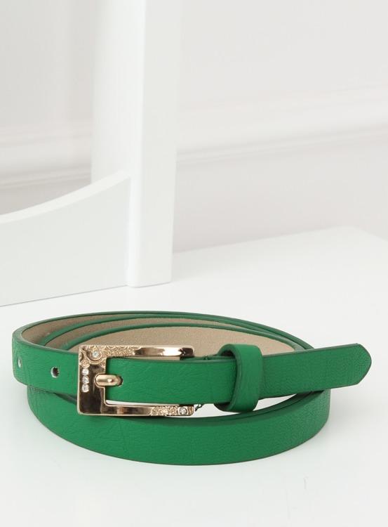 Pasek damski zielony ps-sbkw ZIELONY