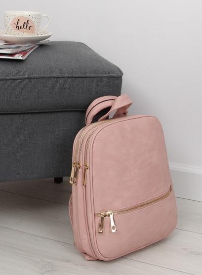 Plecak damski torebka różowy TB-S-8 Różowy