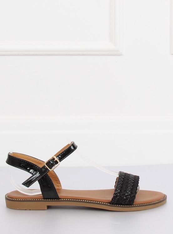 Sandałki damskie czarne K-11 BLACK