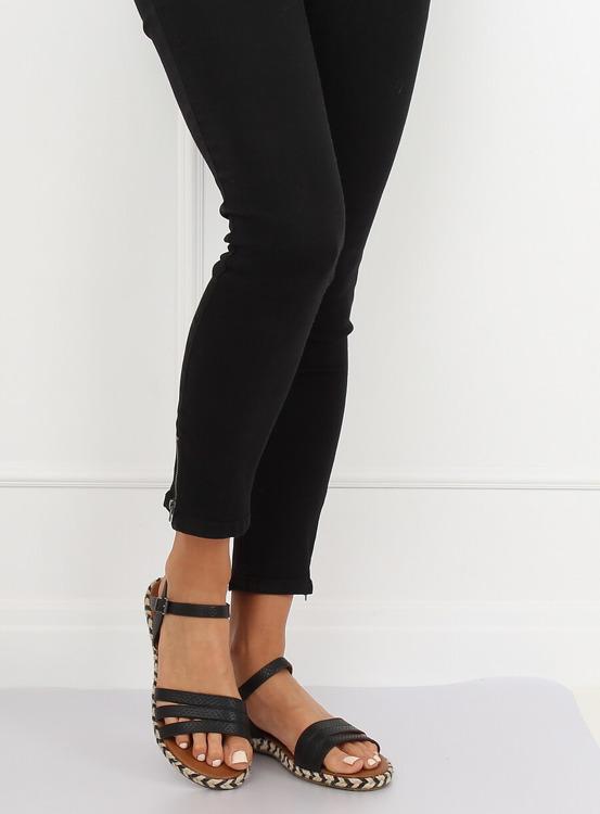 Sandałki damskie czarne M531 BLACK