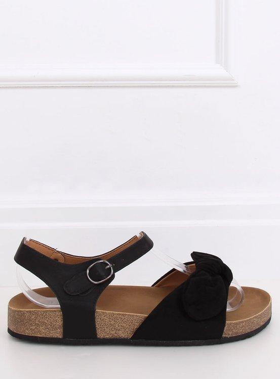 Sandałki damskie czarne TL8-2 BLACK