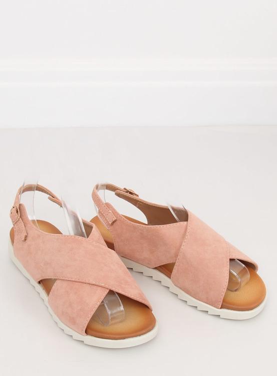 Sandałki damskie różowe 9003 PINK