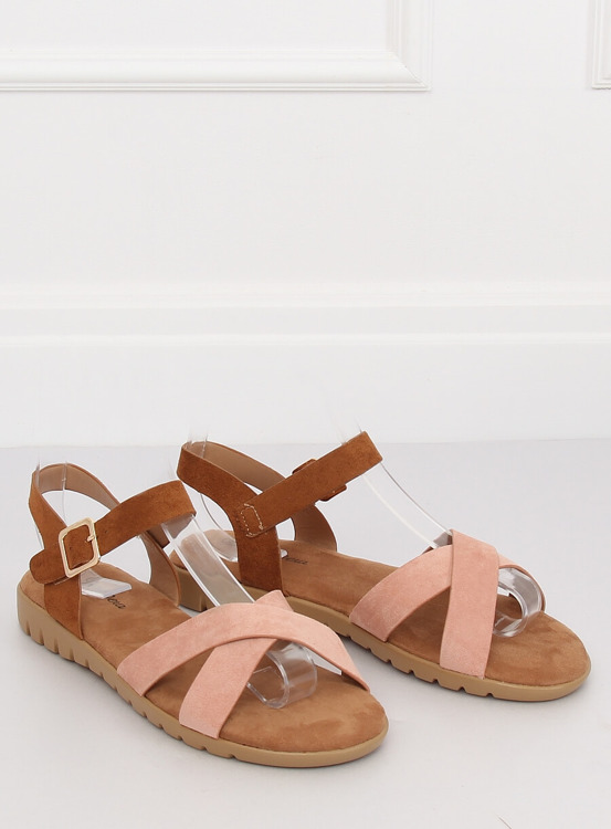 Sandałki damskie różowe 999 PINK