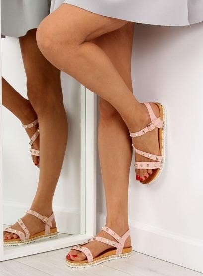 Sandałki damskie różowe WSJ-51 PINK