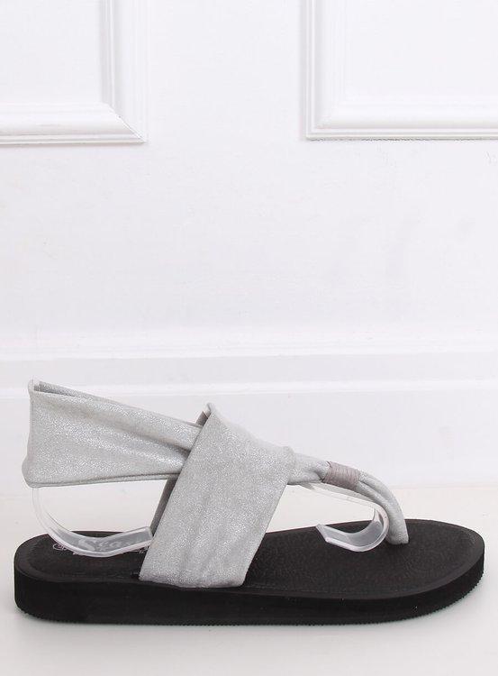 Sandałki japonki bawełniane szare DD82P GREY