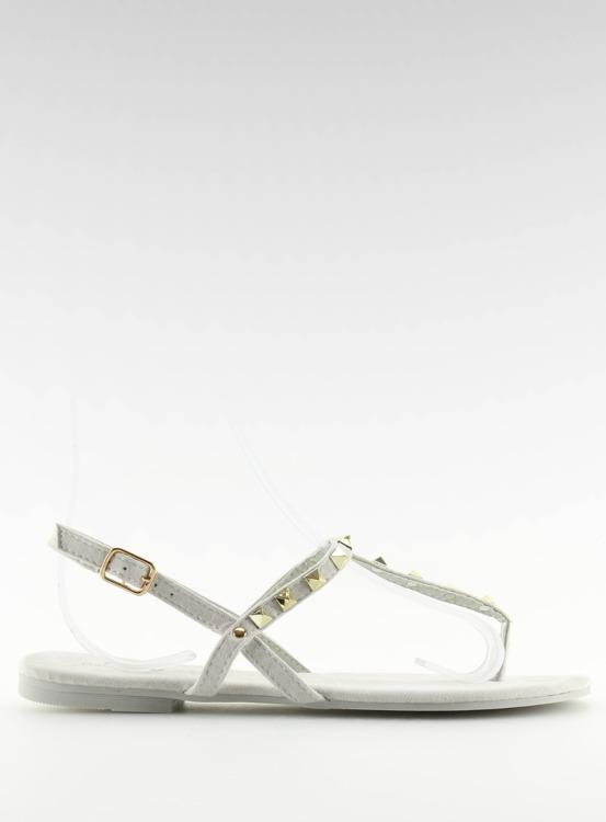 Sandałki japonki szare 11-1 GREY