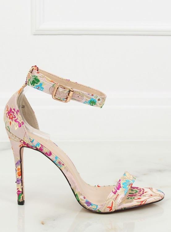 Sandałki orientalne beżowe KSL708 BEIGE