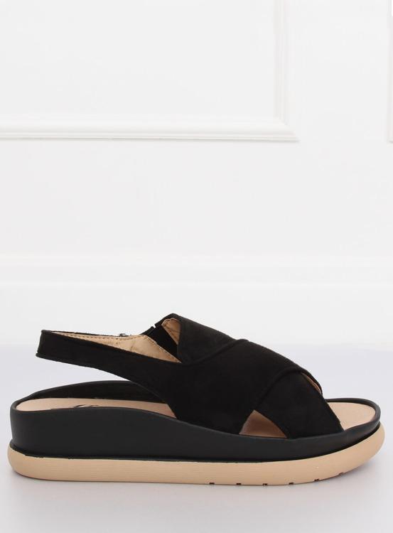Sandały damskie czarne G-202 BLACK