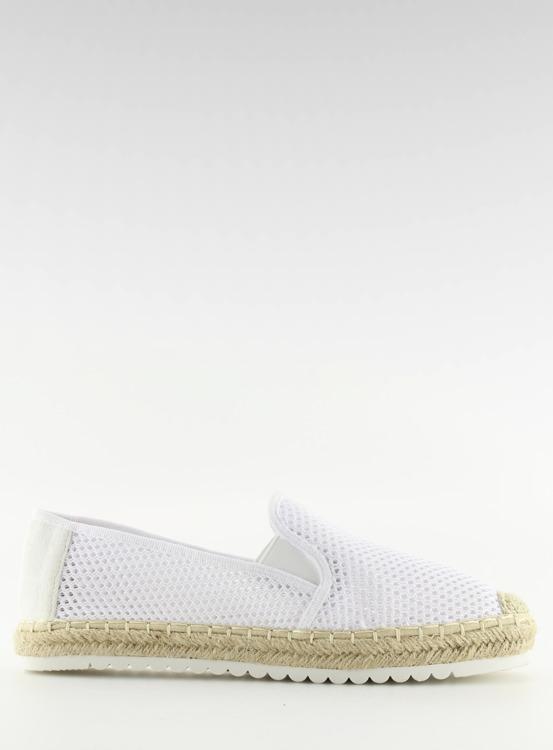 Slip-on espadryle białe BB03P WHITE